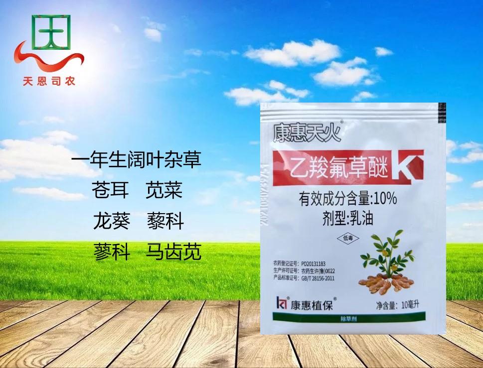 10%乙羧氟草醚—康惠天火